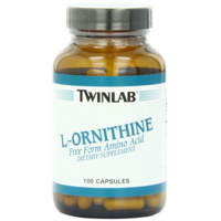TWL. L-Ornithine 500 mg 100 caps
