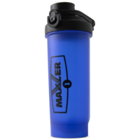 Maxler Shaker Pro W/Lock 700 ml - Black+Blue