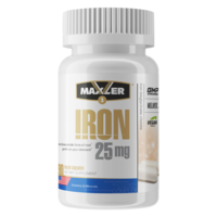 Maxler Iron 25 mg Bisglycinate Chelate 90 vegan caps