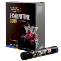 Maxler L-Carnitine 7x25 ml (3000 mg) - Blueberry-Raspberry
