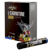 Maxler L-Carnitine 7x25 ml (3000 mg) - Strawberry-Kiwi